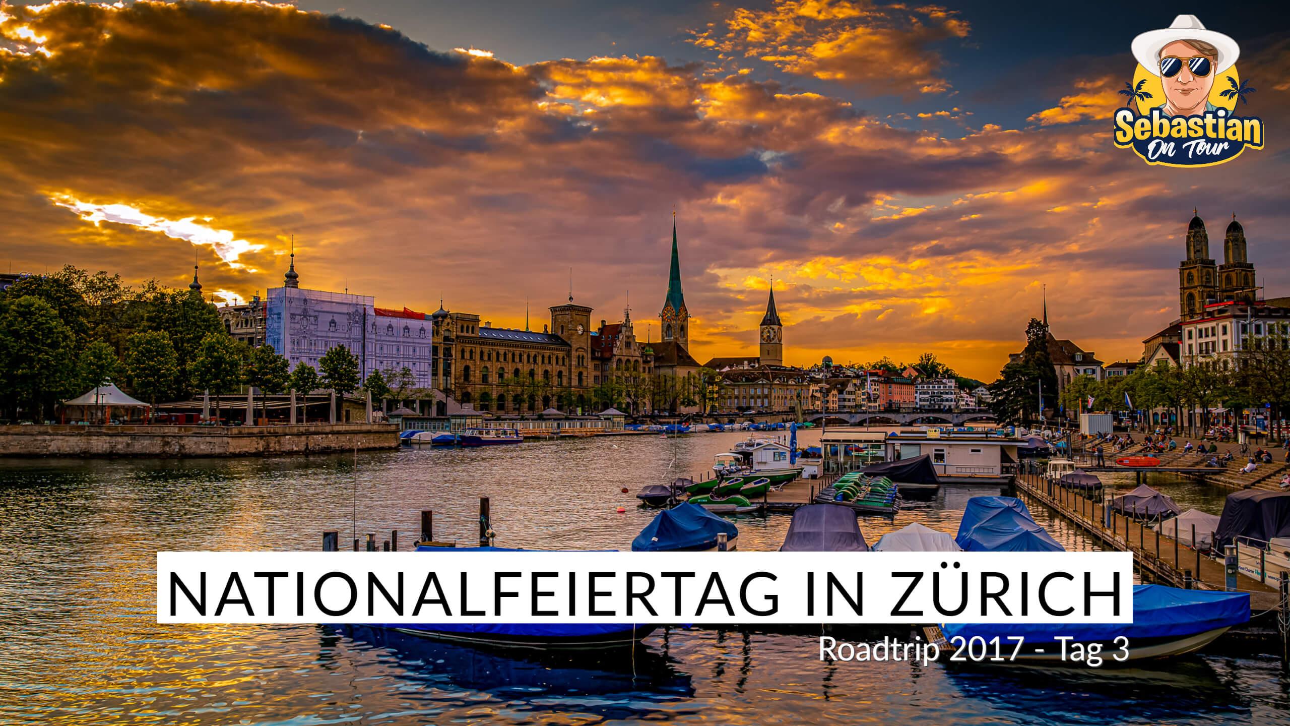 Nationalfeiertag in Zürich - Cabrio Tour 2017 - Tag 3