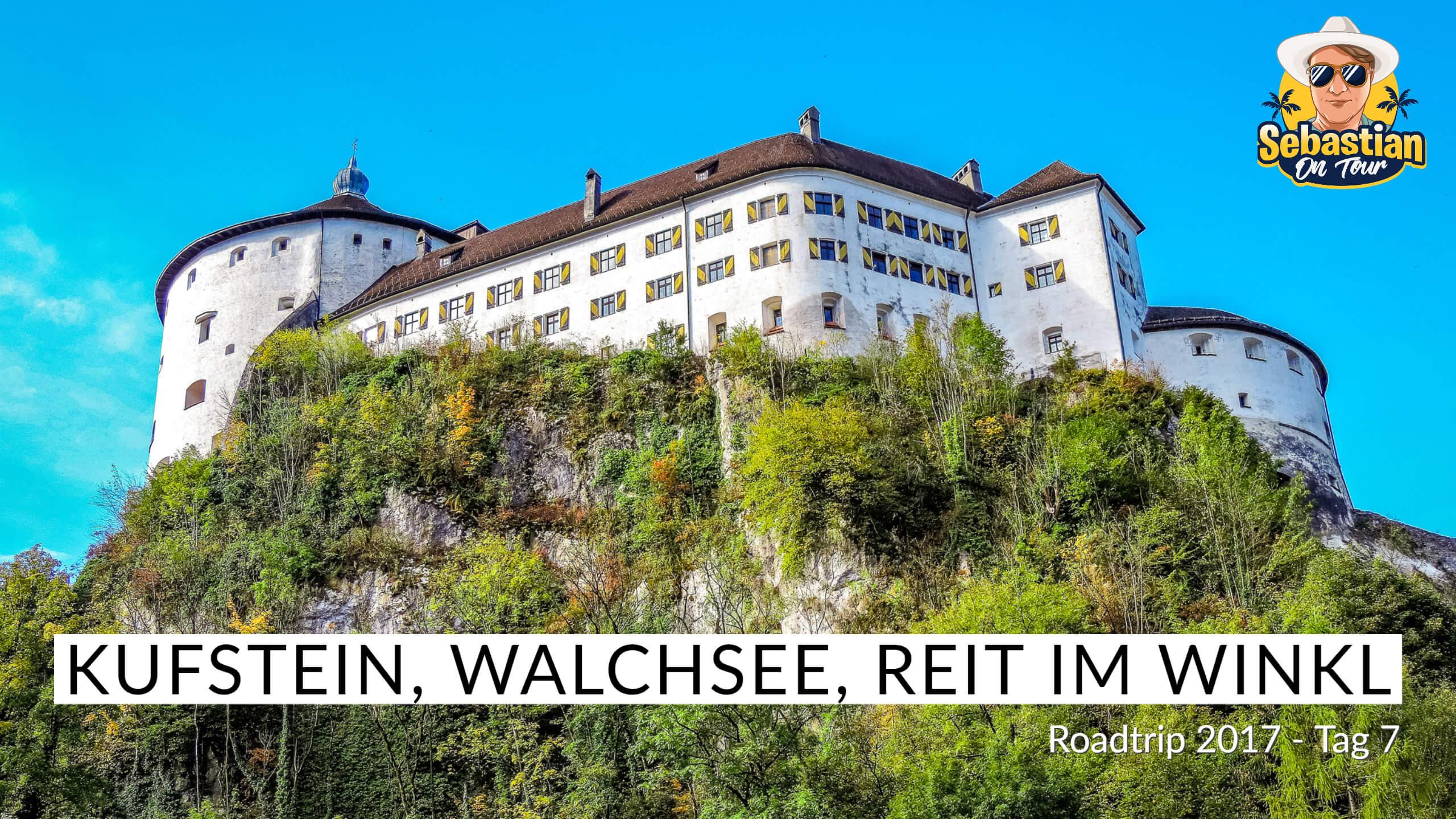 Kufstein, Walchsee, Reit im Winkl - Cabrio Tour 2017 - Tag 7