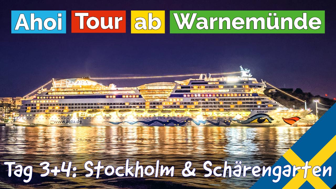 01 AIDAsol Stockholm und Schaerengarten